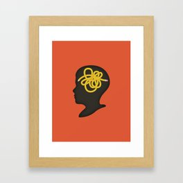 A Flaw in the System Framed Art Print