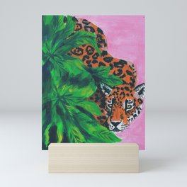 Jungle cat Mini Art Print