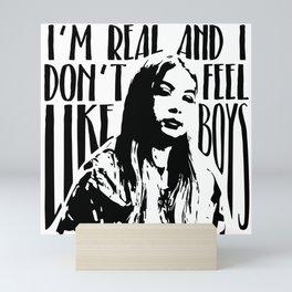 Hayley Kiyoko Girls Like Girls Quote Mini Art Print