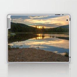 Lily Pond Sunset Laptop & iPad Skin