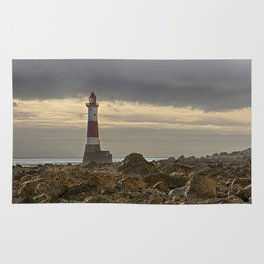Beachy Head Lighthouse And Foreshore Rug