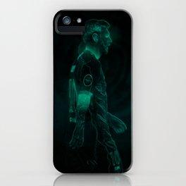 MESSI / GLOW ART iPhone Case