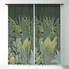 Just Botanicals - Tropical Plants Assemble Blackout Curtain