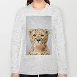 Cheetah - Colorful Long Sleeve T-shirt