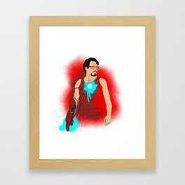 I am Iron Man. [with out saying] Framed Art Print