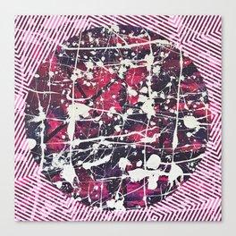 Hopkin's Bedtime - Pink Canvas Print