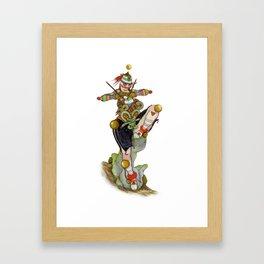 Uru Taquitzl, Ritual Dancer Framed Art Print