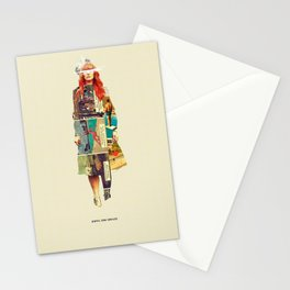 Until She Smiles Stationery Cards