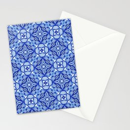For the Love of Blue - Pattern 372 Stationery Cards