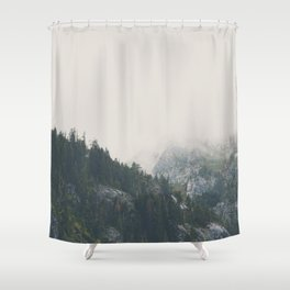 The power of imagination makes us infinite. Shower Curtain