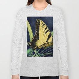Yellow Tiger Swallowtail Butterfly A125 Long Sleeve T-shirt