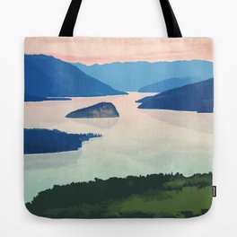 Shuswap Lake Provincial Park Tote Bag