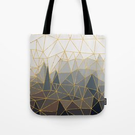 Autumn abstract landscape 1 Tote Bag