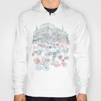 airplanes Hoodies featuring Old Town Bikes by David Fleck