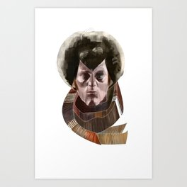 The 4th Doctor Art Print