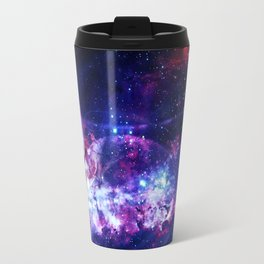 Shadows in the space Travel Mug