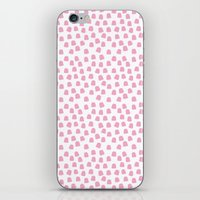 Dots Pink iPhone & iPod Skin