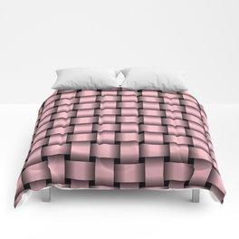 Light Pink Weave Comforters