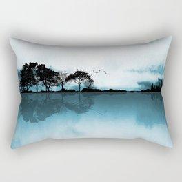 Nature Guitar Blues Rectangular Pillow