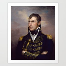 President William Henry Harrison Art Print