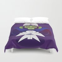 jojo Duvet Covers featuring Mojo Jojo by Mikhail Desales