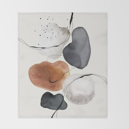 Abstract World Throw Blanket