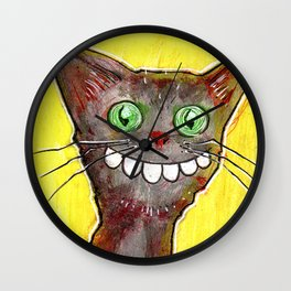 Derp Cat Wall Clock