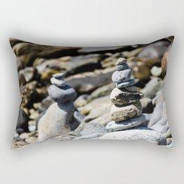 Balance Stones Rectangular Pillow