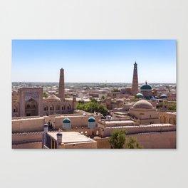 Khiva, Uzbekistan Canvas Print