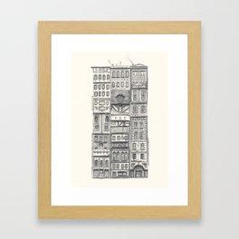 Crowded #2 Framed Art Print
