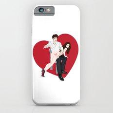 spanky panky (white) iPhone 6s Slim Case