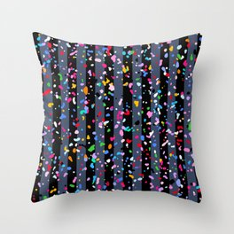 Sunlit Terrazzo Throw Pillow