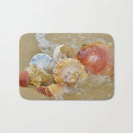 Sea Shells by the Seashore Bath Mat