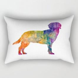 Tyrolean Hound in watercolor Rectangular Pillow