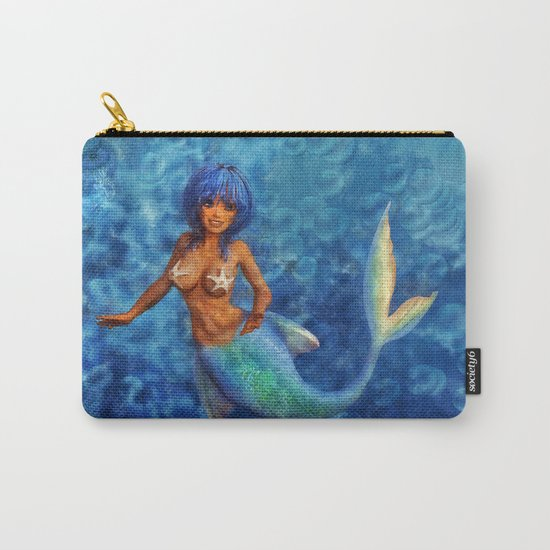 Ocean Mermaid Carry-All Pouch