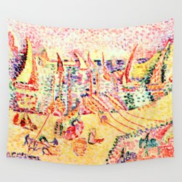 Henri Matisse Port of Abaill Wall Tapestry