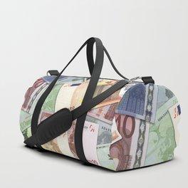 Art of the euro money Duffle Bag