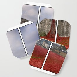 Blood Swept Lands Tryptych Coaster