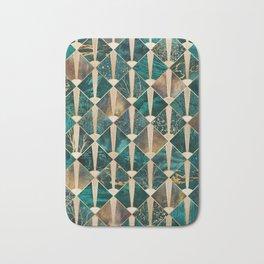 Art Deco Tiles - Ocean Bath Mat