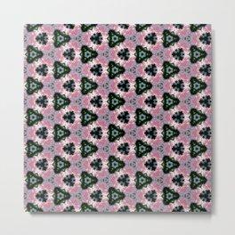 Geranium with Love (pattern 115) Metal Print