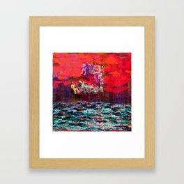 The Disenchantment of Childhood Framed Art Print