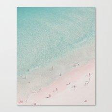 beach - summer of love III Canvas Print
