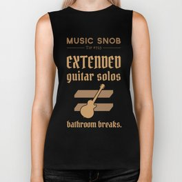 Solos = DON'T GO-s! — Music Snob Tip #723 Biker Tank