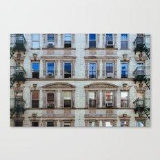 New York Windows Canvas Print