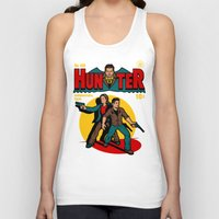 comic Tank Tops featuring Hunter Comic by harebrained