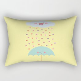 Love Rain Rectangular Pillow