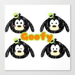 Goofy tsumtsum Canvas Print