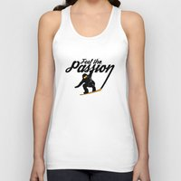 snowboard Tank Tops featuring Snowboard Passion by LR Design