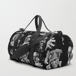 BUKOWSKI collage - The FREE SOUL quote Duffle Bag