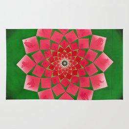 Spiral Rose Rug